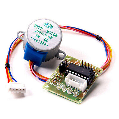 5V Stepper Motor+ULN2003 Driver Test Module 28BYJ-48 Arduino Board USEful New