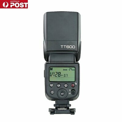 AU Godox TT600 GN60 Camera Flash Speedlite for Canon Nikon Pentax Olympus
