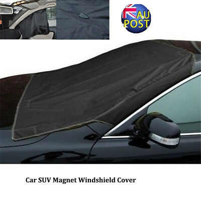 Car SUV Magnet Windshield Cover Sun Shield Snow Ice Frost Freeze Protector MN