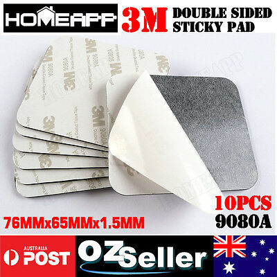 10pcs 3M Double Sided Adhesive foam tape sticky pads black 9080A 76MM*65MM*1.5MM