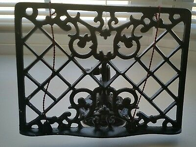 Wrought Iron Book Holder Cookbook Recipe Easel Stand