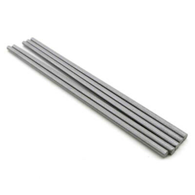 Dia 1mm-6mm High Hardness Steel Shaft Axis Length 100mm DIY Model Car Gear x 5