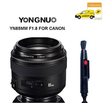 Yongnuo YN85MM F1.8 AF/MF Medium prime Fixe Telephoto Lentille for Canon FR