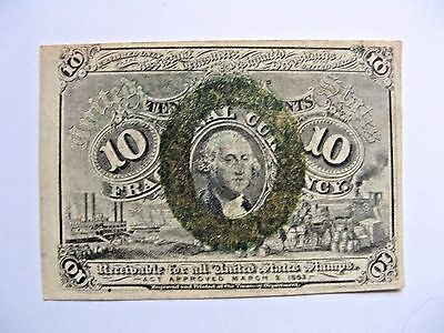 10 Cent US Fractional Currency  FR 1245  EF XF
