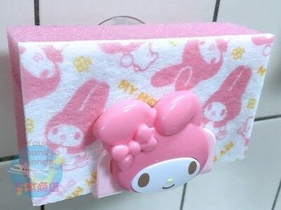 SANRIO My Melody KAWAII Sponge Holder Suction Cup Kitchen Dish Wash Good Drain