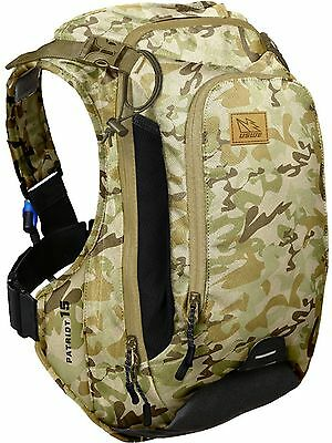 USWE Hydration Pack Patriot CB - 15 Litre (Without Bladder) Camouflage