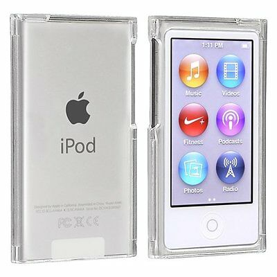 Snap-on Slim Case Compatible with Apple iPod nano 7th Generation, Clear L9P