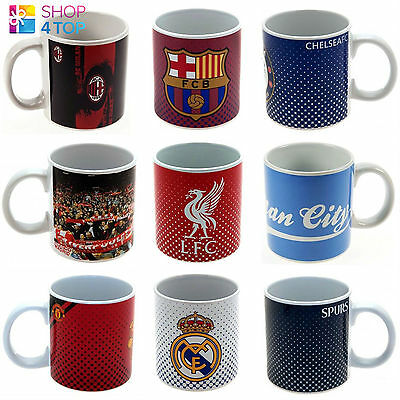 Official Football Soccer Club Team Jumbo Large Mug Cup Coffee Tea 1 Pint Ceramic