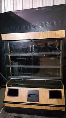 KMP Fixtures Lighted Dry Bakery Pastry/Donut Display Case