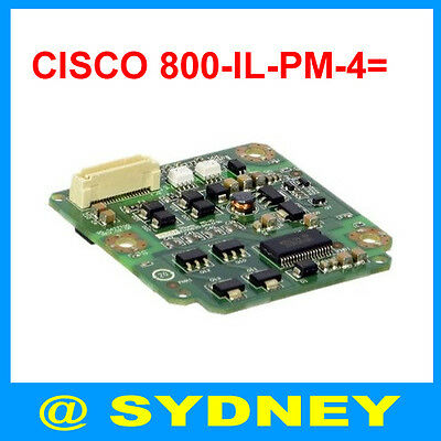 New Cisco 800-IL-PM-4= Inline Power Module 4-Port 802.3af for Cisco 870 890