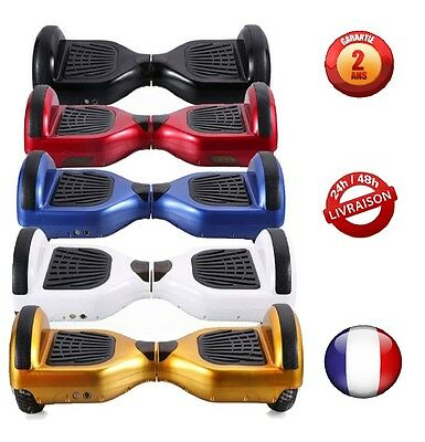 "6.5"" Gyropode Hoverboard Overboard Skate Scooter électrique Bluetooth Neuf !"