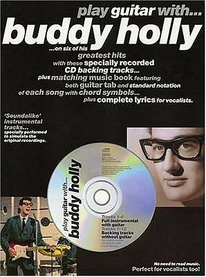 Partition+CD pour guitare - Play Guitar With Buddy Holly