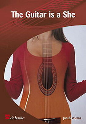 Partition pour guitare - The Guitar Is A She