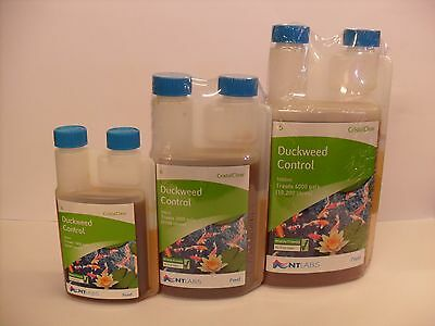 NT Labs Cristalclear Duckweed Control 250ml 500ml 1000ml Pond Treatment