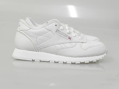 Reebok Classic Leather (GS) Youth Grade School White Grey 71-50150 Size 3.5