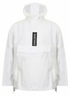 d657b94d7587 Nike Air TN Stealth Woven Parka Mens Hooded Luxury Jacket White 247830 100  M10 Coats   Jackets