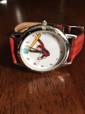 Nice Curious George One In A Million Watch In Excellent Condition
