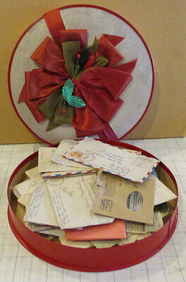 Candy Box Full WWII letters Emails Jewish soldier to Wife in Brooklyn New York