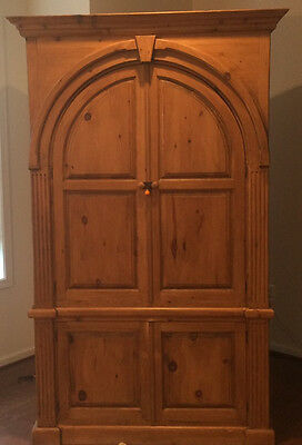 Charming country french arrmoir or wardrobe with arched doors