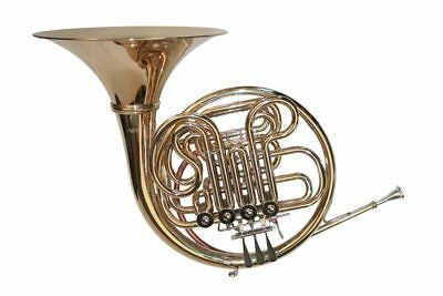double French horn, with case and mouthpiece - Karl Glaser