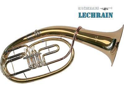 BB Tenor horn, Alto Horn with case and mouthpiece - Karl Glaser