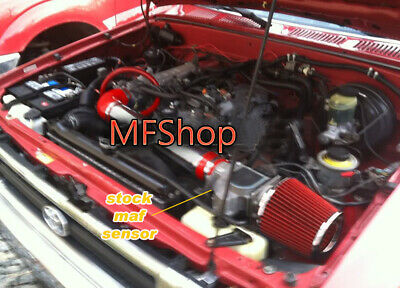 FILTER FIT 1995-1999 TOYOTA 4RUNNER TACOMA DLX 2.4 2.4L AIR INTAKE KIT SYSTEMS