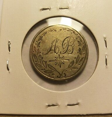 Antique Love Token on 1840 Seated Liberty Quarter - 90% silver - See Pics