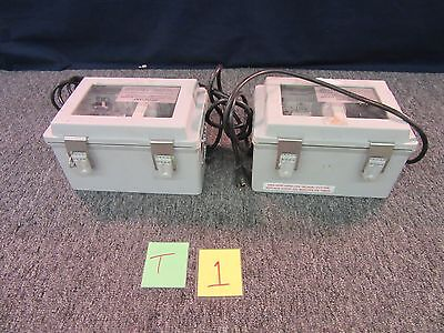 2 Applied Magnetic Key Tape Disintegrator Kd-100 Shredder Dod Approved Used