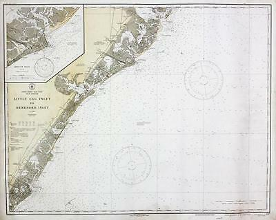 Chart of New Jersey Shoreline Lot 395