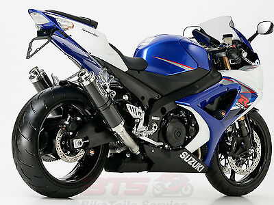 Hurric Supersport exhaust-SUZUKI GSX-R 1000 2007