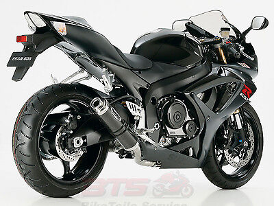 Hurric Supersport exhaust Supersport Auspuff Ersatzdämpfer-SUZUKI GSX-R 600 2006