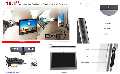 """10 """" IN CAR ENTERTAINMENT SYSTEM Android 4.0  WITH 10.1"""" Capacitive Touch Screen"""