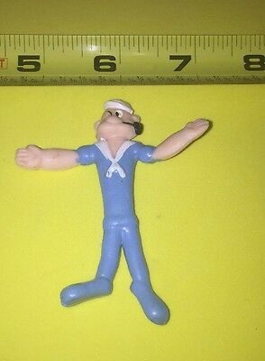 Vintage 1968 Rubber Bendable King Features Syndicate Popeye Figure