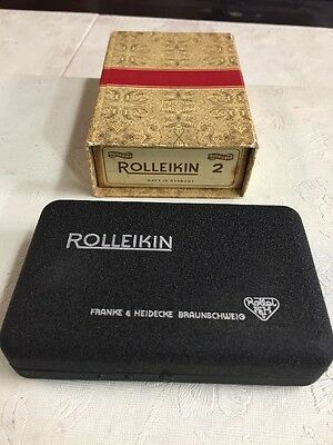 Rolleikin 2, 35mm adapter kit for Rolleiflex and Rolleicord, complete