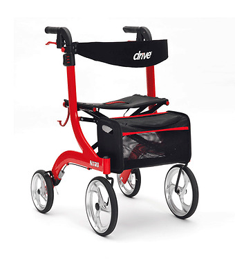 Nitro Mobility Rollator Walker - FREE Express Delivery