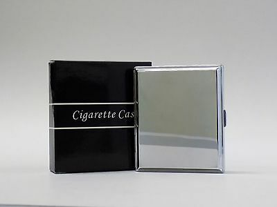 Square Pocket Metal Cigarette Case Smoke Holder Storage Box (Pack of 10 cases)