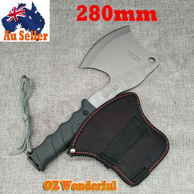 Camping Axe Outdoor Camping Survival Tool Chop Throwing Hiking Hunting Wood Pile