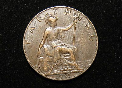 1925 Great Britain Farthing Coin Lot 229