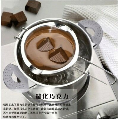 304 stainless steel chocolate pot impermeable Heat butter melting pot bowl