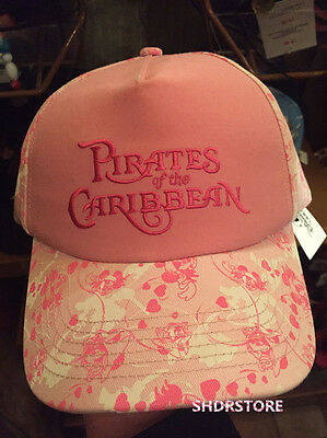 KIDS PINK HAT 54cm SHANGHAI DISNEYLAND DISNEY RESORT Pirates of the Caribbean