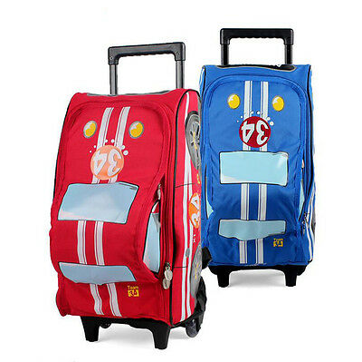 Kids Trolley School Bags For Boys S Backpack Lightening Book Bag On Wheels