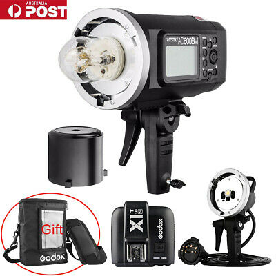 AU Godox AD600BM HSS Flash + X1T-N Trigger + AD-H600B Flash Head + PB-600 Bag