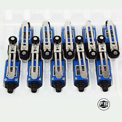 NEW 10PCS Waterproof Momentary Rotary Roller Lever Limit Switch ME-8108 USA