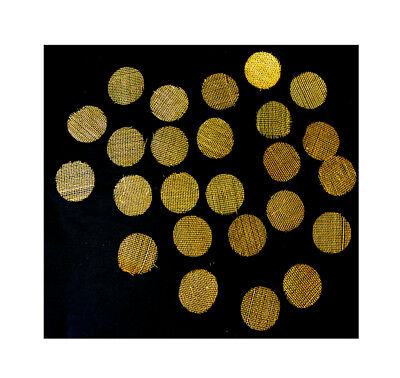 17mm Brass Tobacco Pipe Filter Screens Gauzes For Wooden Metal Glass Hand Pipes