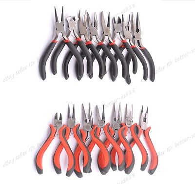 16 Style, Bent, Snipe Pliers, End and Side Cutters Jewellery Making Tools