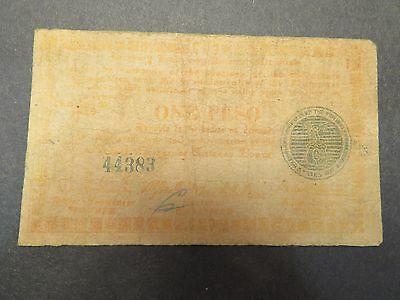 Philippines WWII emergency currency - Negros -1 peso - 1944 - #44383