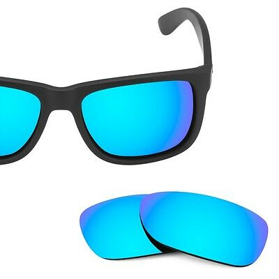 Fit&See Polarized Blue Replacement Lenses for Ray Ban 4165 (54)