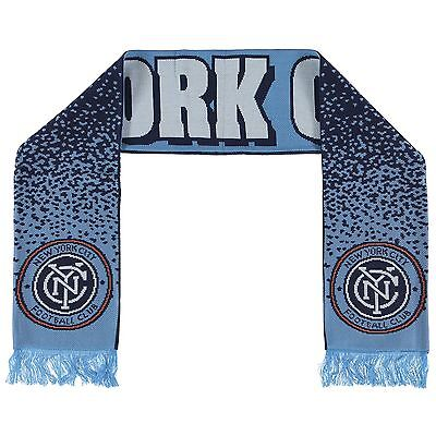 New York City FC Jacquard Scarf Navy H164