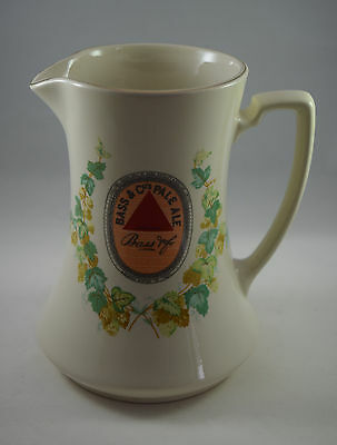 Bass & Co Pale Ale Water Jug by Wade - Reproduction of Circa 1910 Minton Jug