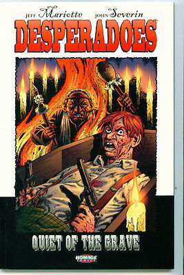 |•.•| DESPERADOES: QUIET OF THE GRAVE • Graphic Novel • Homage Comics